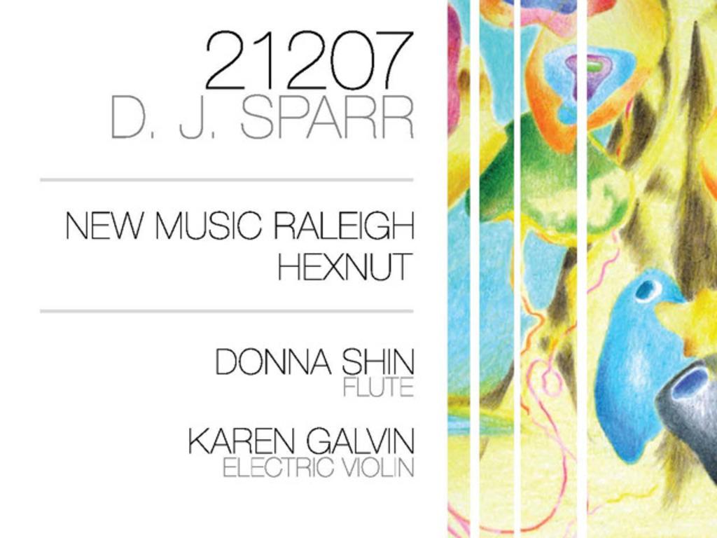 ¡A CD! New Music Raleigh   Hexnut   Donna Shin   D. J. Sparr's video poster