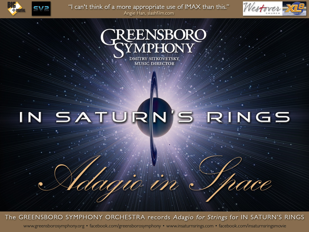Adagio in Space: The Greensboro Symphony + In Saturn's Rings's video poster