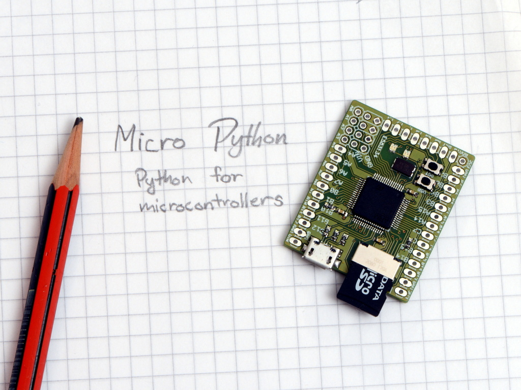 Micro Python: Python for microcontrollers's video poster