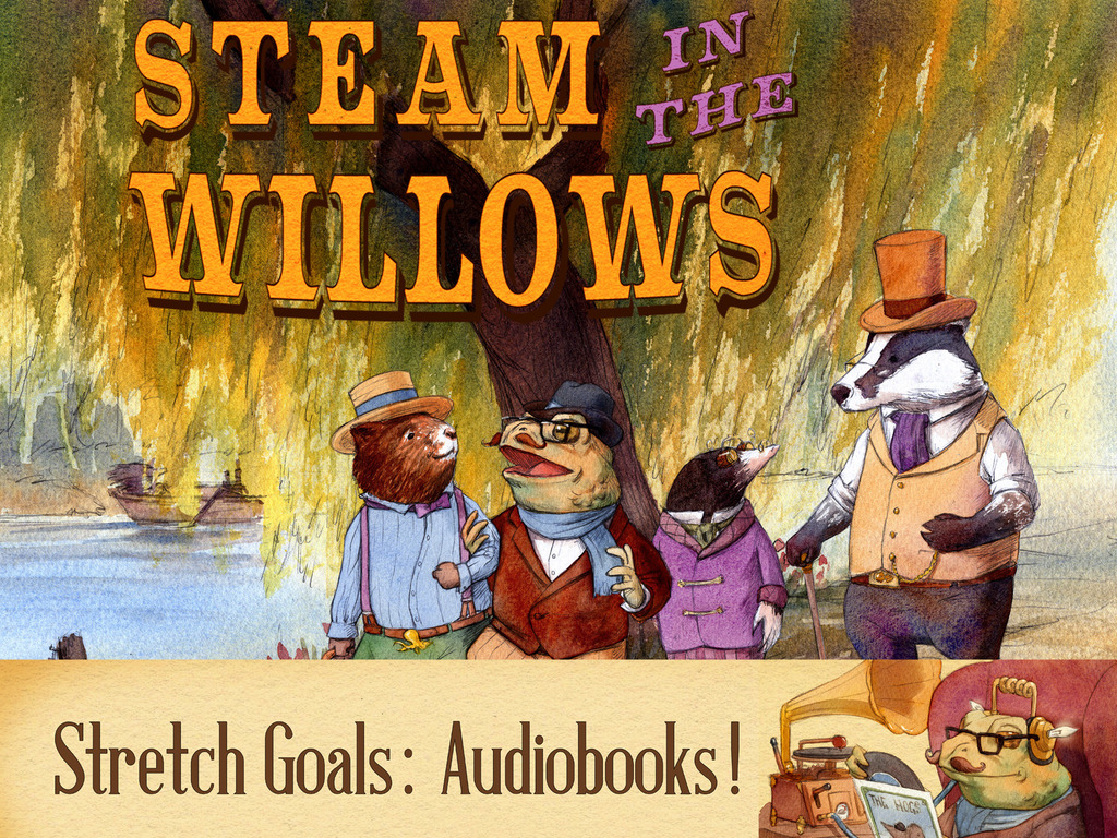 Steam in the Willows - a zietgeist take on a classic tale's video poster