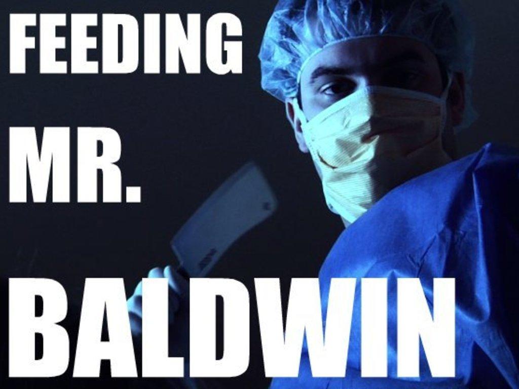FEEDING MR. BALDWIN's video poster