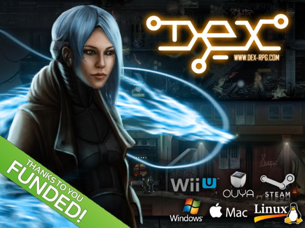 Dex - Cyberpunk 2D RPG's video poster