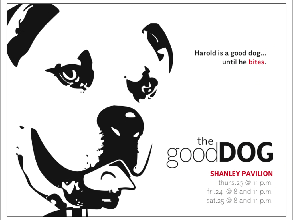 The Good Dog's video poster