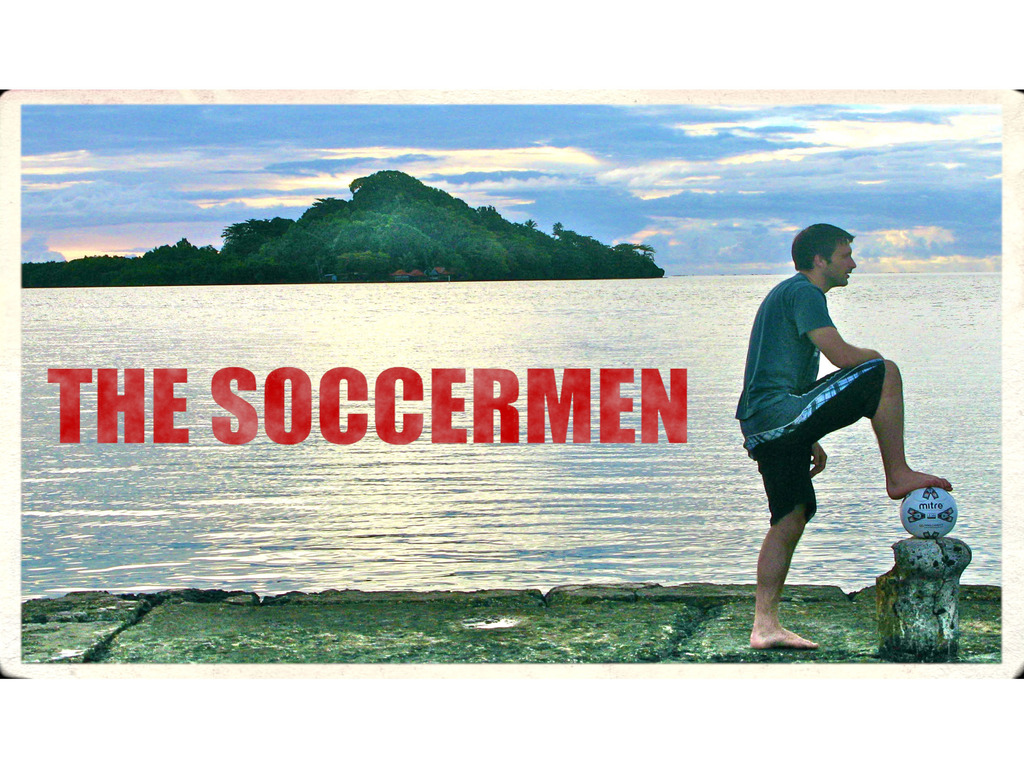 The Soccermen's video poster