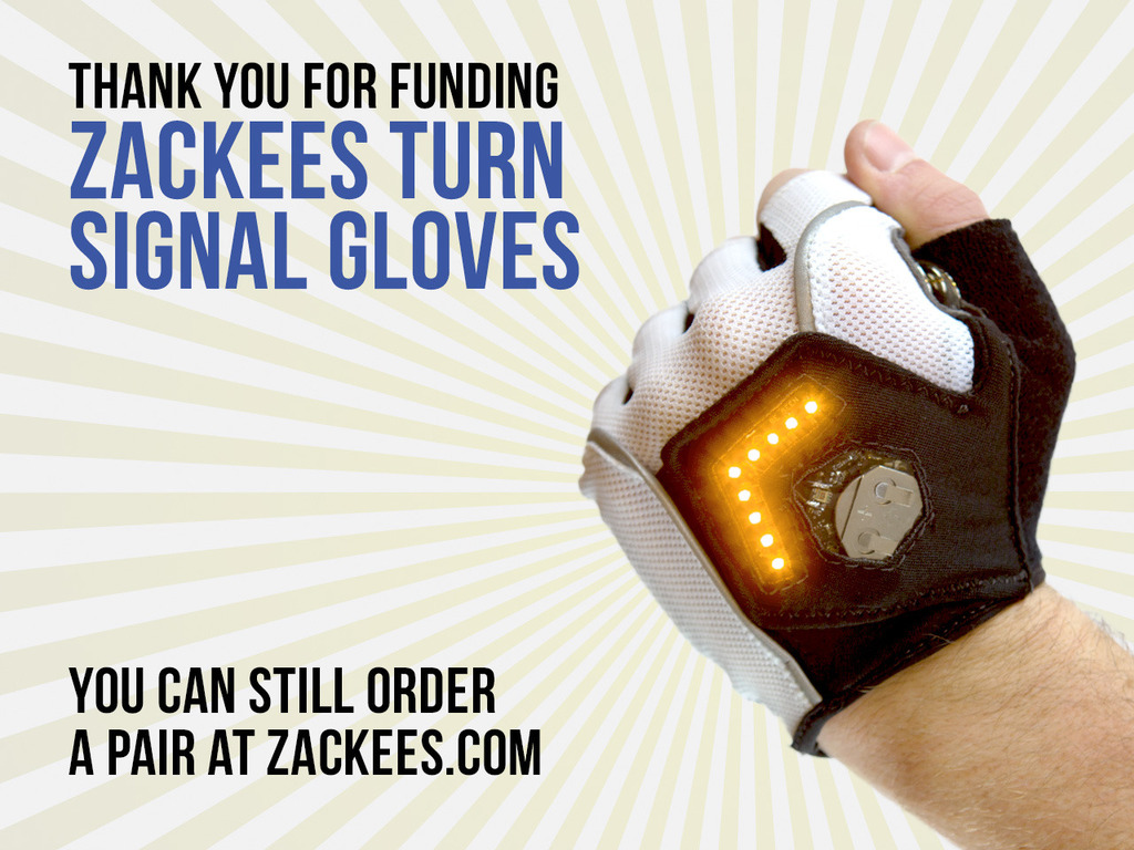 Zackees Turn Signal Gloves's video poster