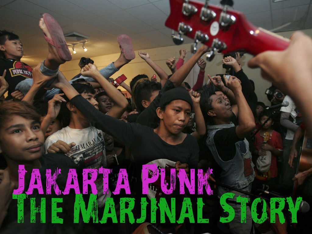 Jakarta Punk: The Marjinal Story's video poster