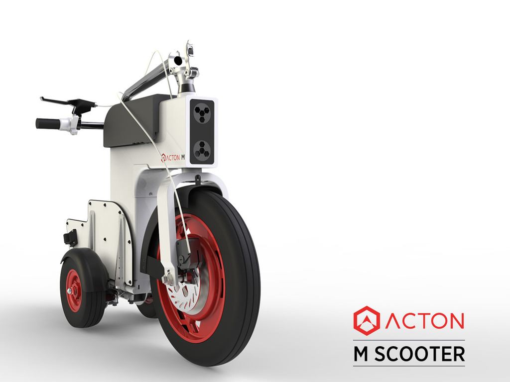 ACTON M Scooter's video poster
