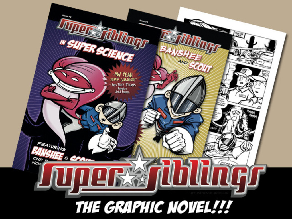 Super Siblings the Graphic Novel's video poster