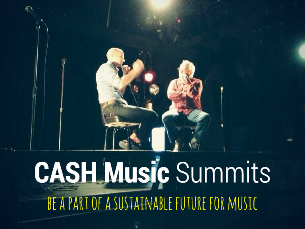 CASH Music Summits, music meets technology's video poster
