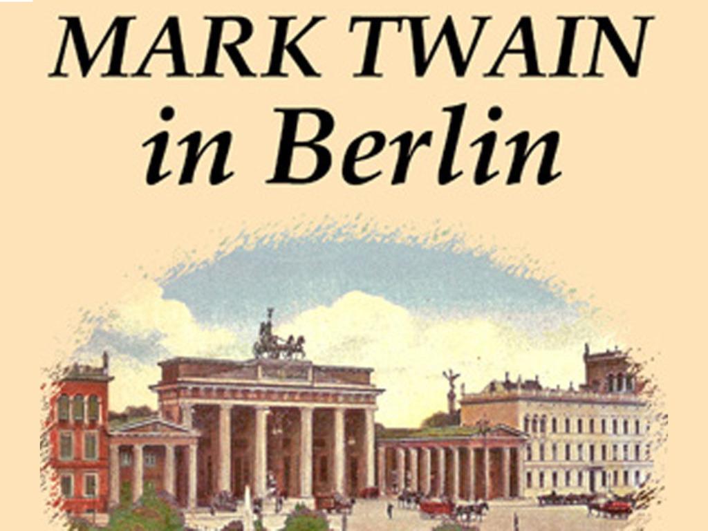 Mark Twain in Berlin - Underwrite a New Book!'s video poster