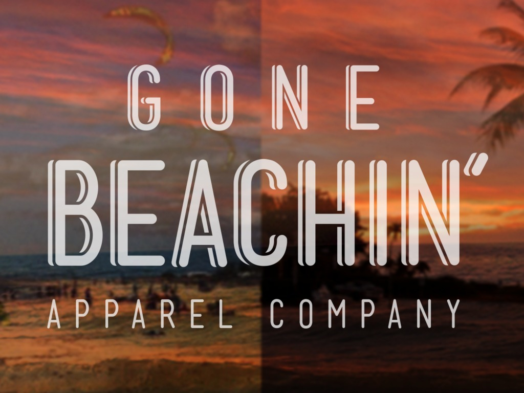 Gone Beachin' Designed and Printed in Michigan's video poster