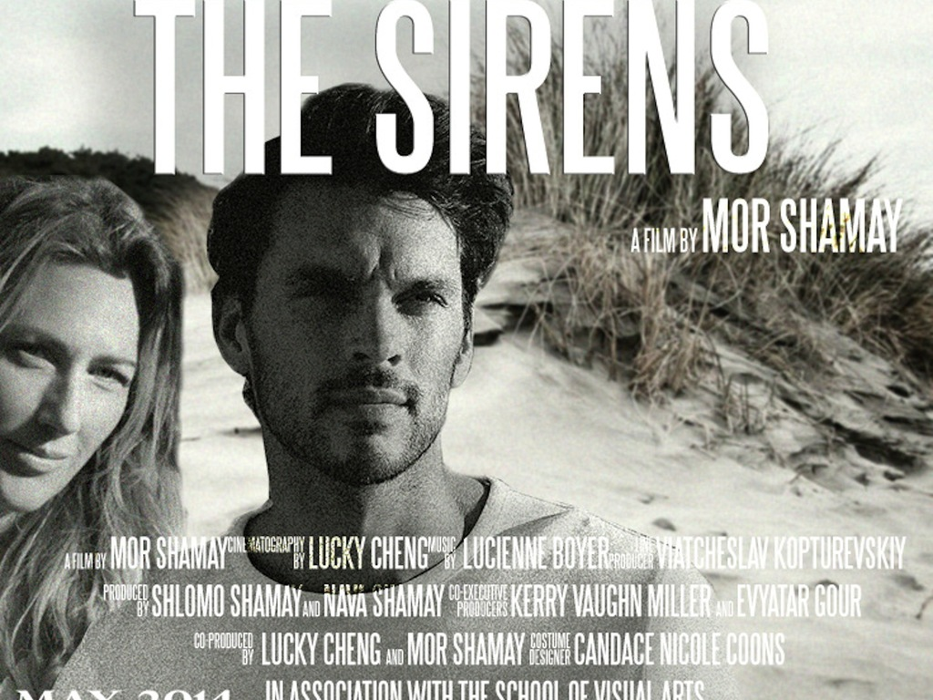 The Sirens- 35mm short film's video poster