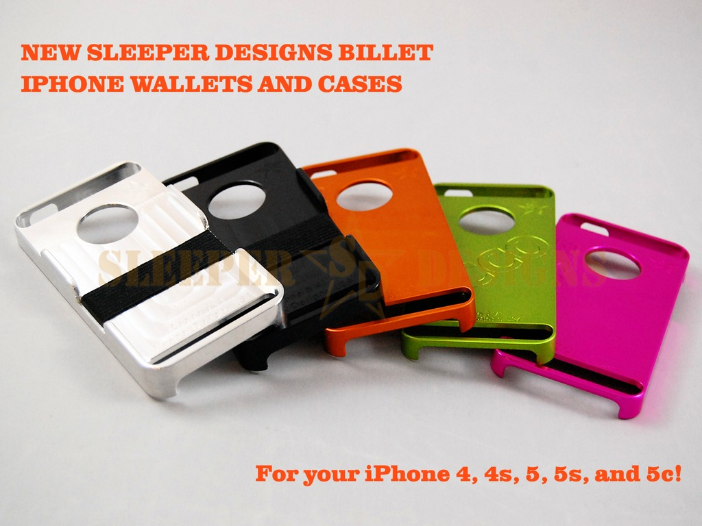 New Sleeper Designs Billet iPhone Wallets and Cases's video poster