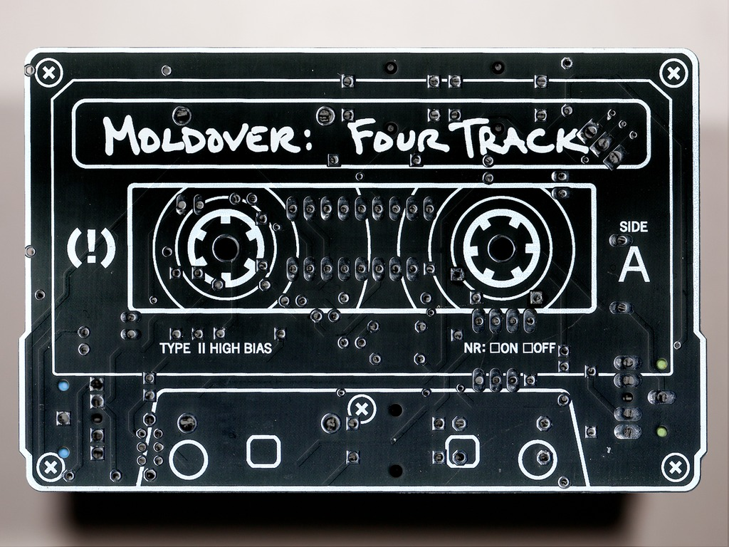 """MOLDOVER: waaaaay more than an album! - """"FOUR TRACK""""'s video poster"""
