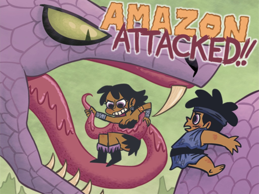 Gastrophobia Volume 2: Amazon Attacked's video poster