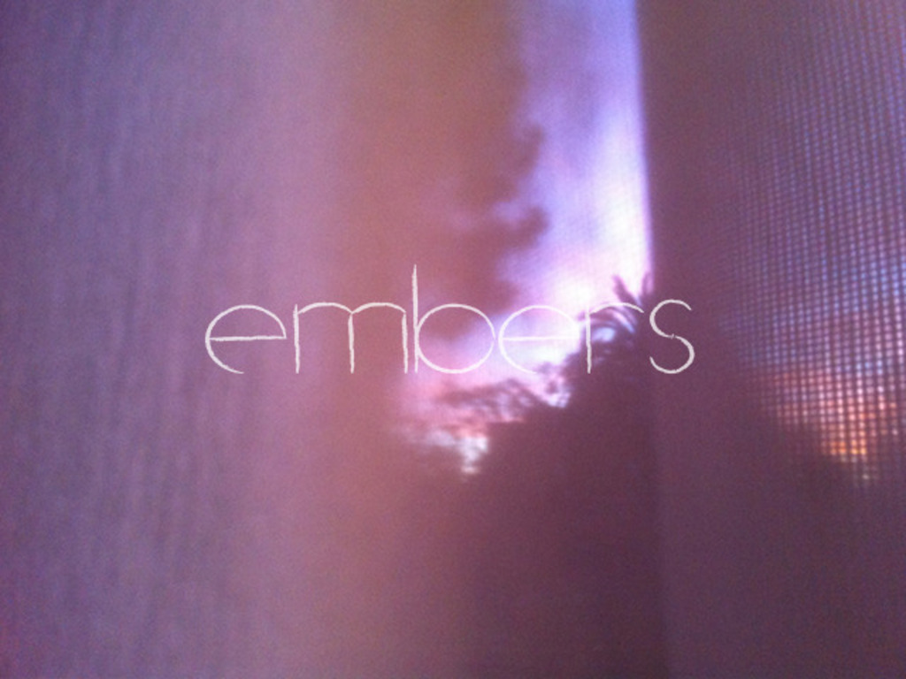 EMBERS - a sci-fi feature film directed by Claire Carré's video poster