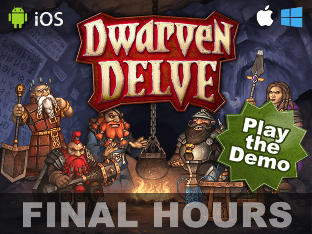 Dwarven Delve - An Action Dungeon Crawl with a Twist's video poster