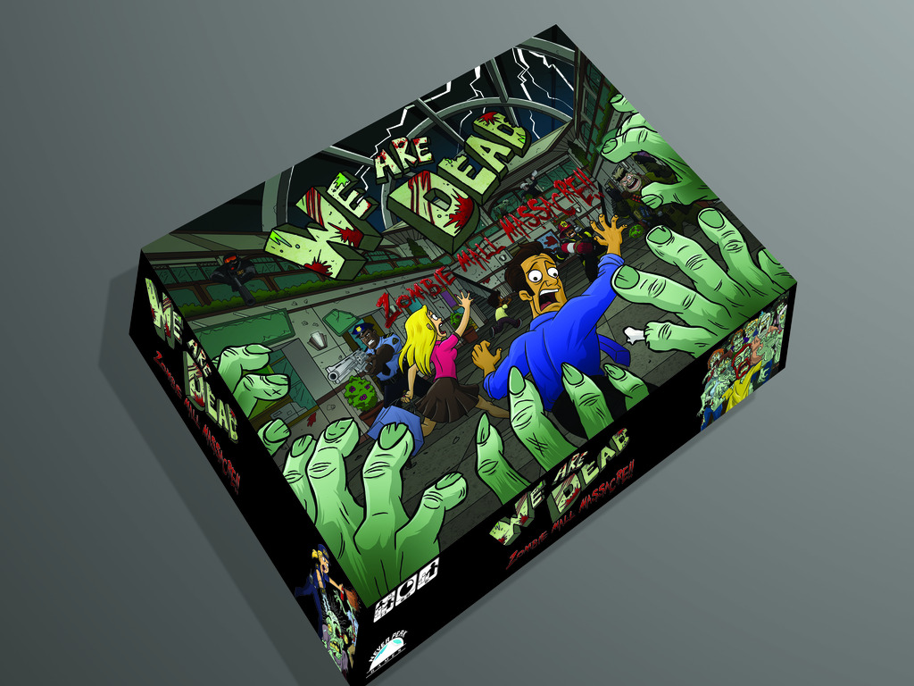 We Are Dead: Zombie Mall Massacre Board Game's video poster