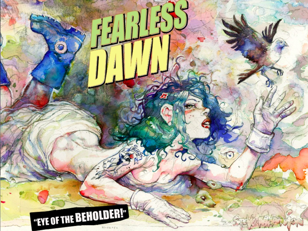 "FEARLESS DAWN ""Eye of the Beholder"" Comic Book's video poster"