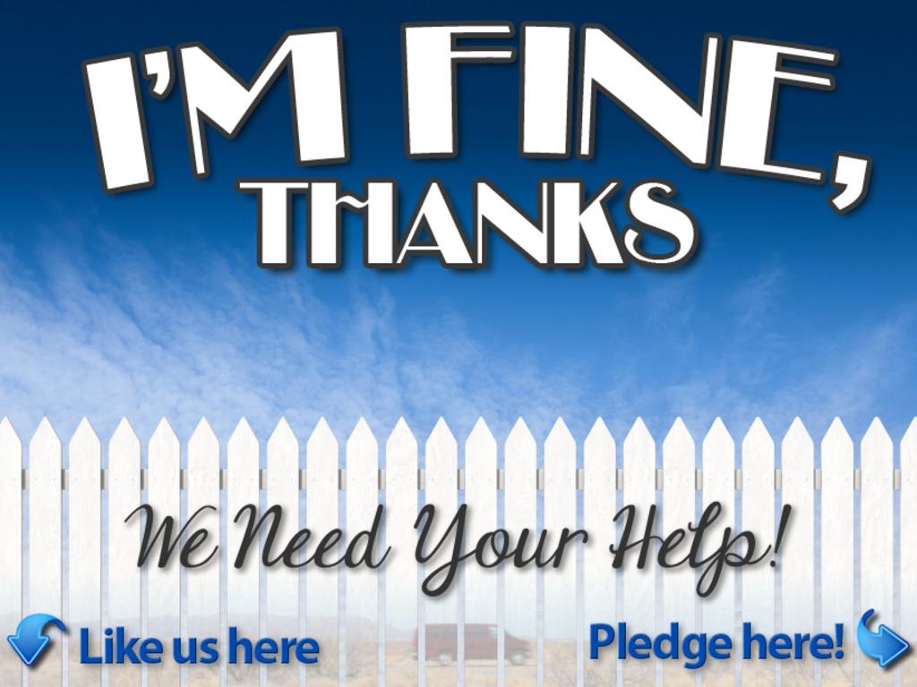 I'm Fine, Thanks's video poster