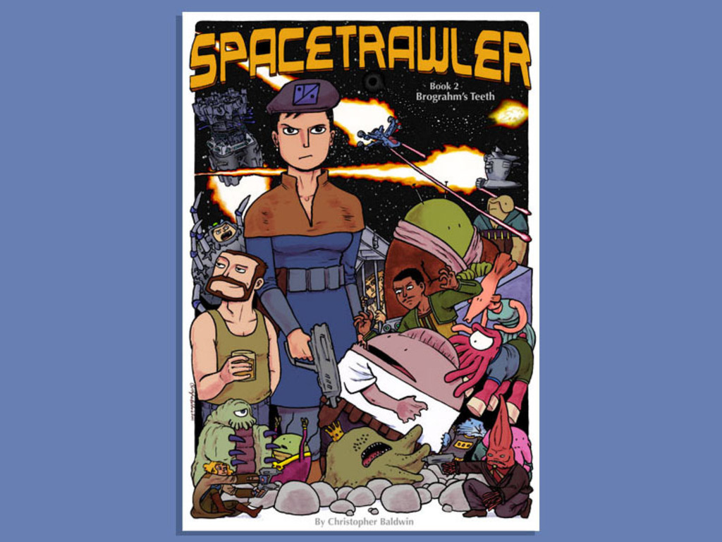 Spacetrawler Book Two's video poster