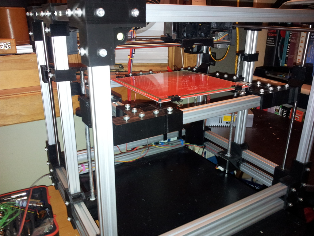 HD^2 Worlds First High Definition and Heavy Duty 3D Printer's video poster