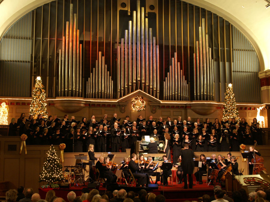 Mozart Requiem with Bach Cantata 106 & Brahms Nänie's video poster