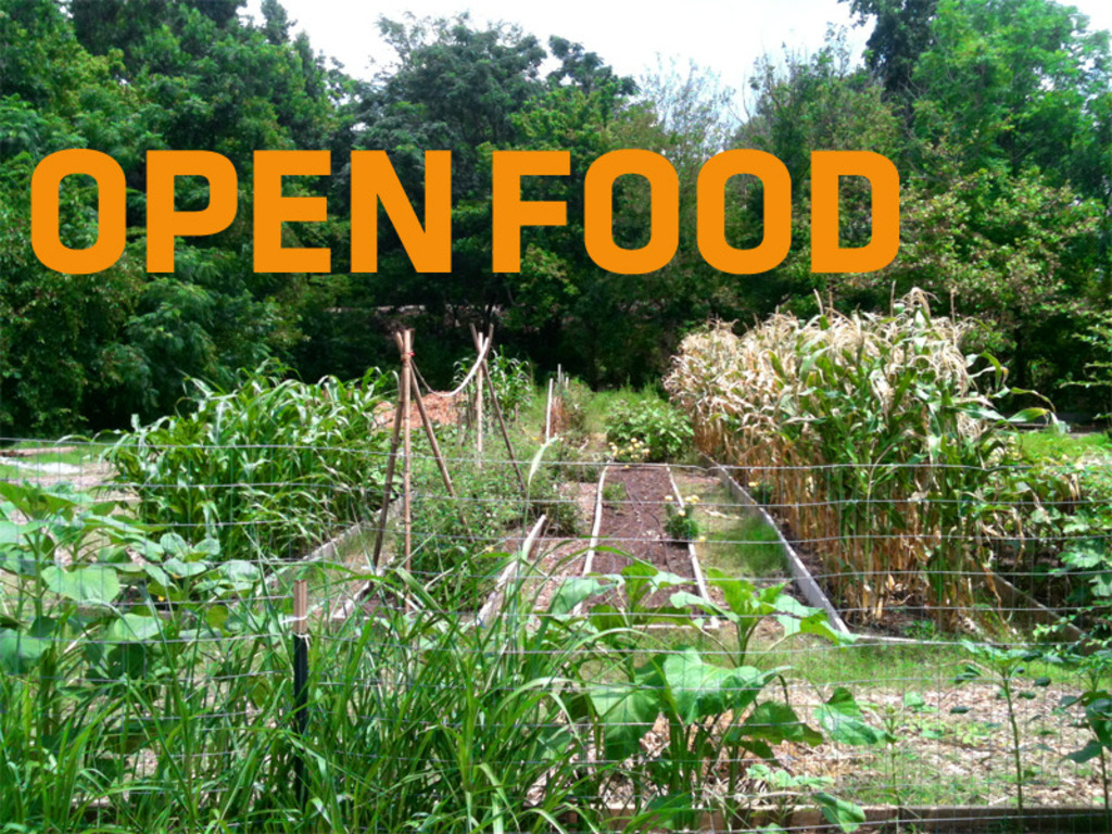 OPEN FOOD: Making local food open + accessible's video poster
