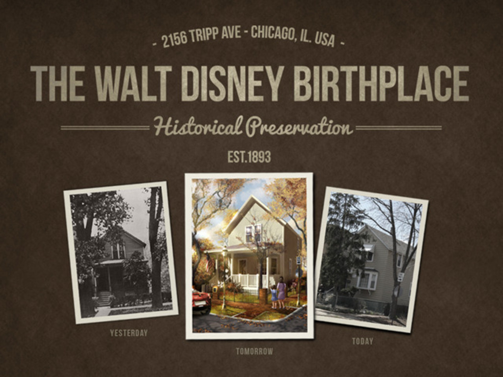 The Walt Disney Birthplace Preservation Project's video poster