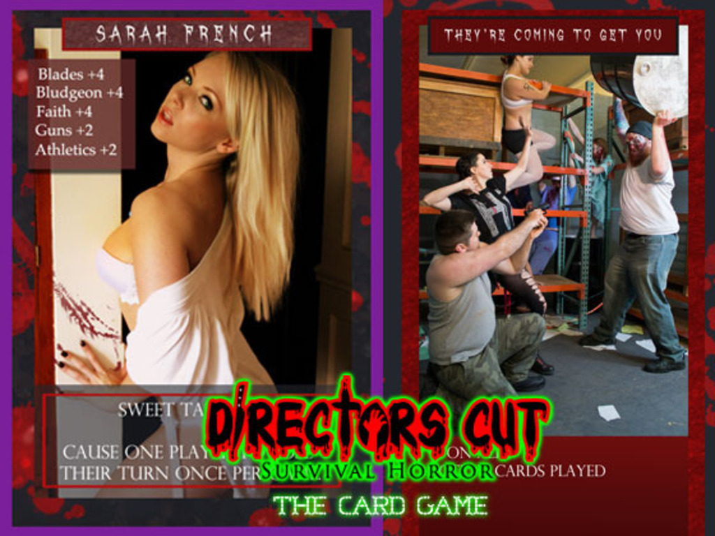 Directors Cut Survival Horror.. The Card Game's video poster