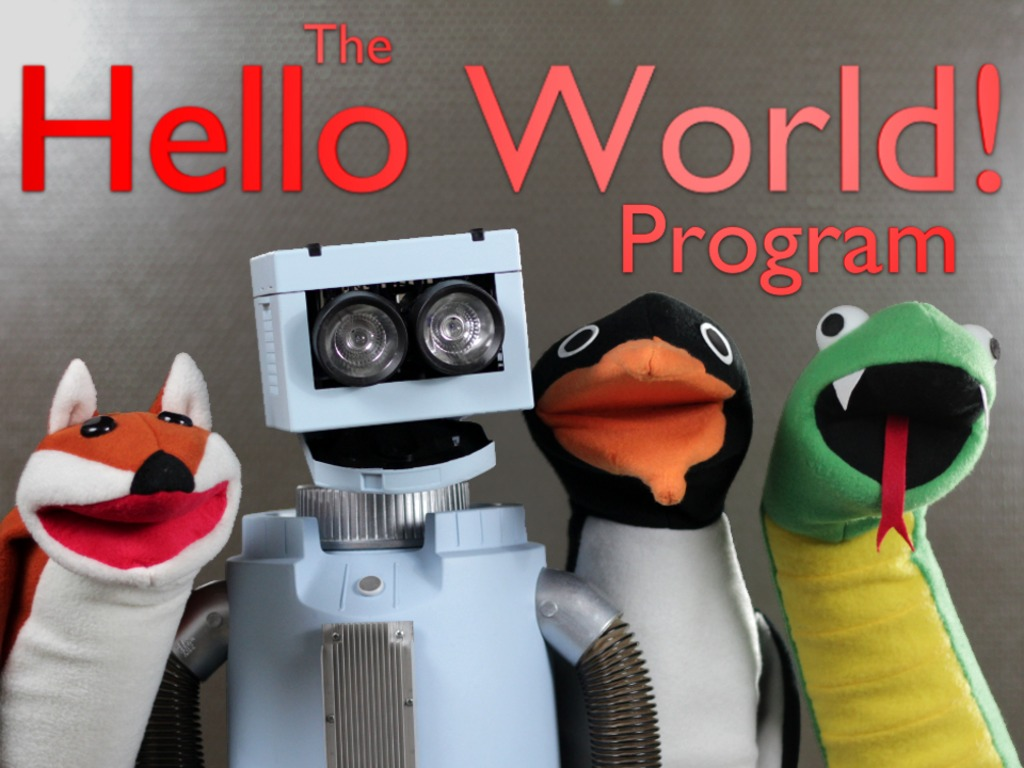 Hello World! An Educational & Entertaining Puppet Show's video poster