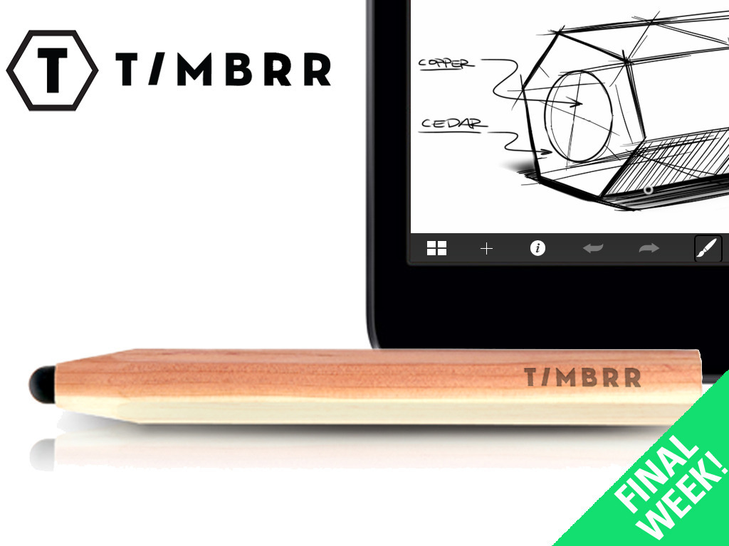 Timbrr - A Cedar & Copper stylus for your Smart Device's video poster