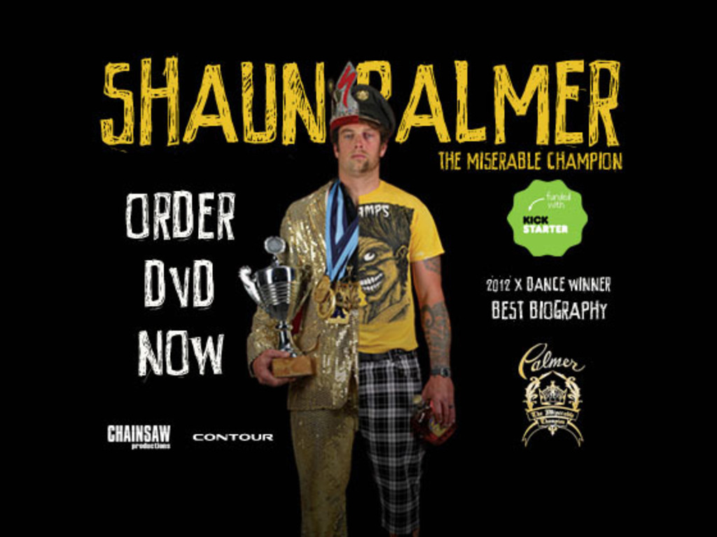 """Shaun Palmer """"The Miserable Champion""""'s video poster"""