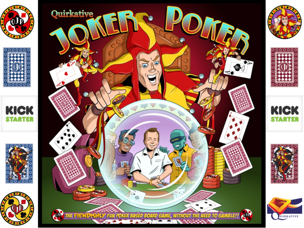 Joker Poker - A fun new poker based board game / card game's video poster