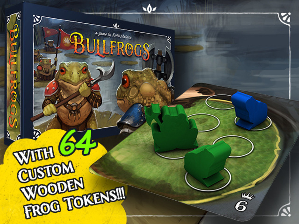 Bullfrogs - A Strategy Game of Amphibian Combat's video poster