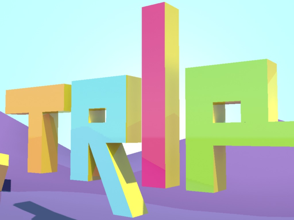 TRIP - AN ABSTRACT SURREAL EXPLORATION EXPERIENCE's video poster