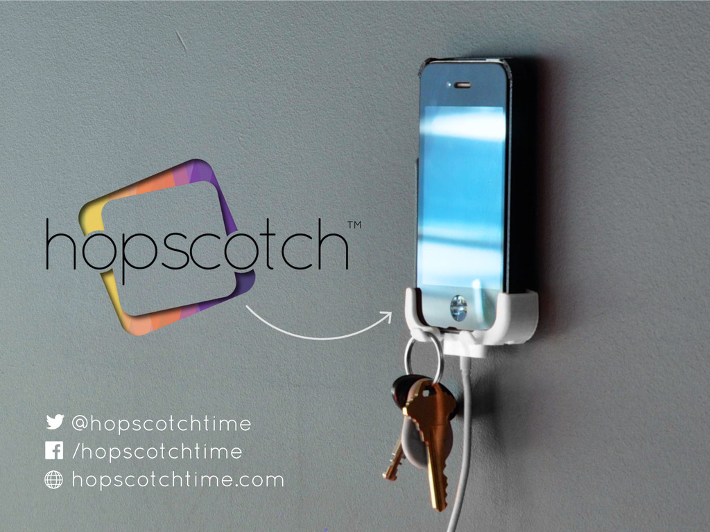 Hopscotch Wall & Car Mount for iPhone (4S + 5 + 5C + 5S)'s video poster