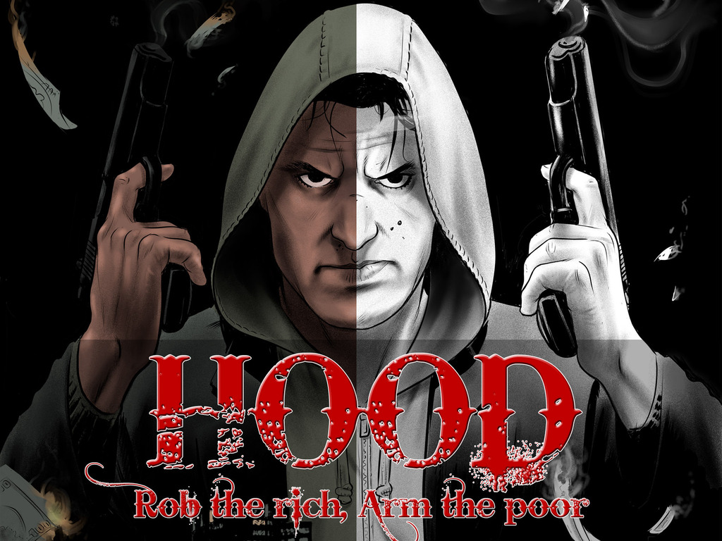 Hood - An Action Noir Graphic Novel's video poster