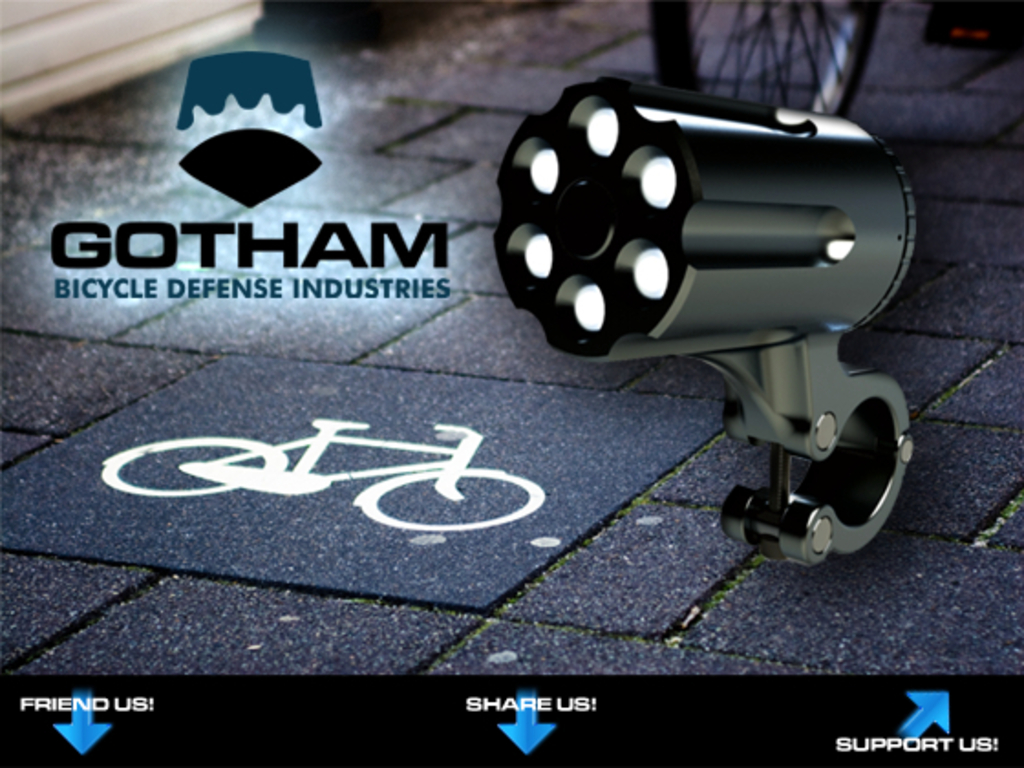 Theft-Resistant Bike Light by Gotham Bicycle Defense's video poster