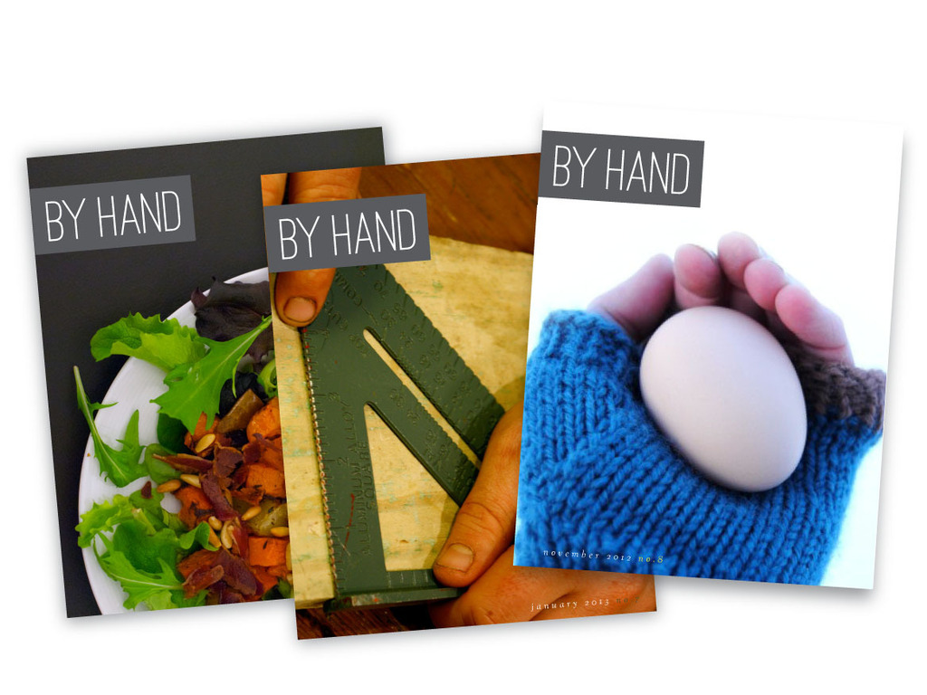 By Hand: a lifestyle magazine for people who make and do's video poster