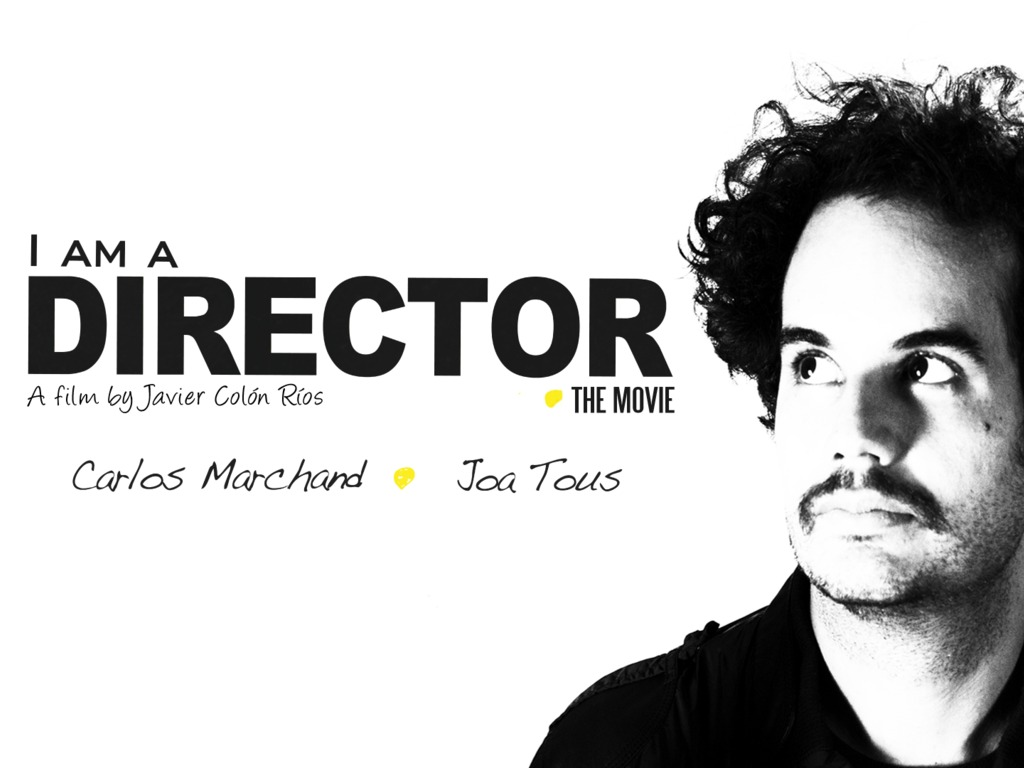 I AM A DIRECTOR's video poster