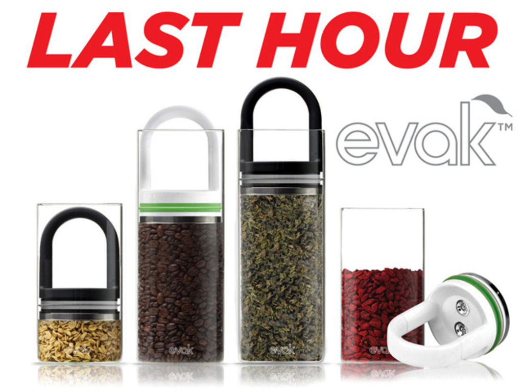 """EVAK- """"Food in, Air out"""" Glass Food Storage Container's video poster"""