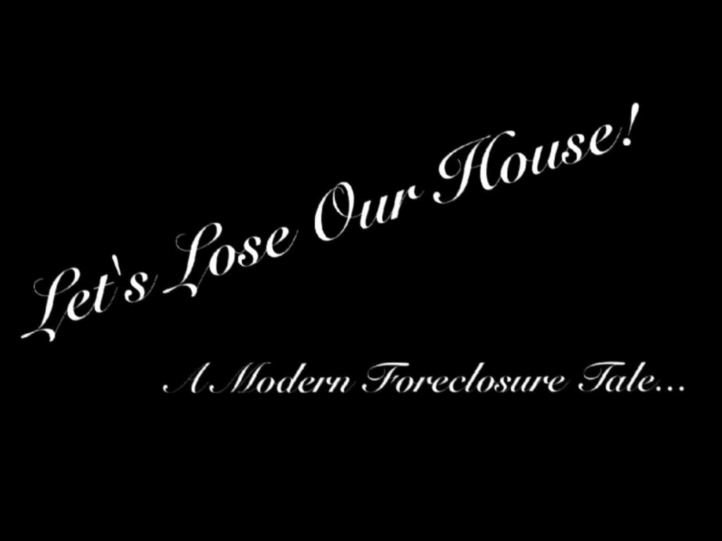 Save Our Community: Fight Foreclosure's video poster
