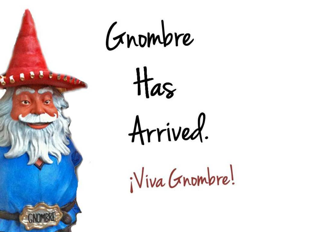 Gnombre - The Lovable Hispanic Garden Gnome & Bobblehead's video poster