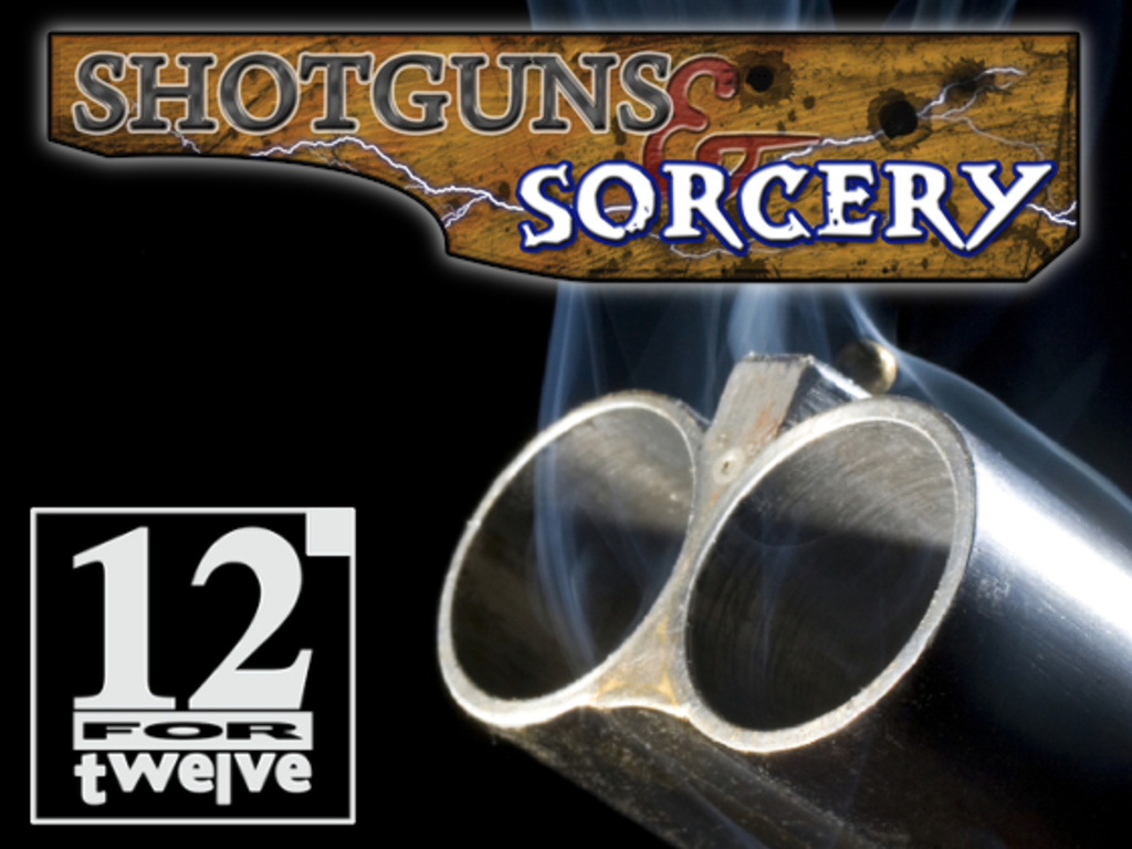 12 for '12 (2.0): Shotguns & Sorcery Novels's video poster