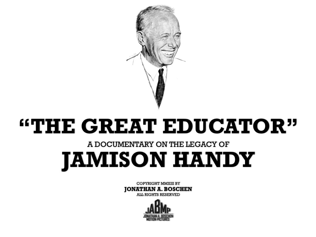 """""""The Great Educator""""'s video poster"""