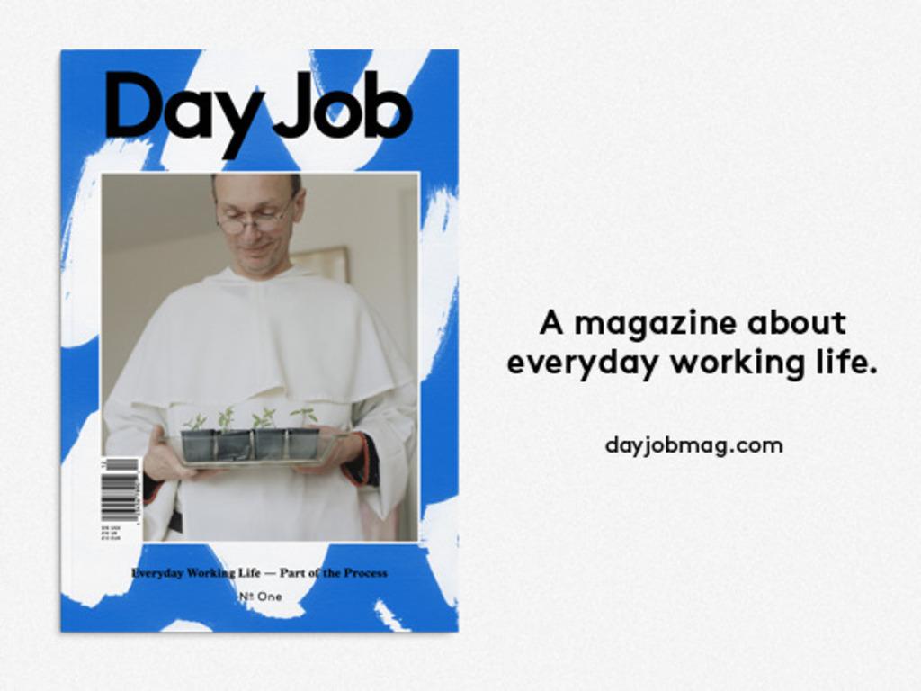 DAY JOB Magazine's video poster
