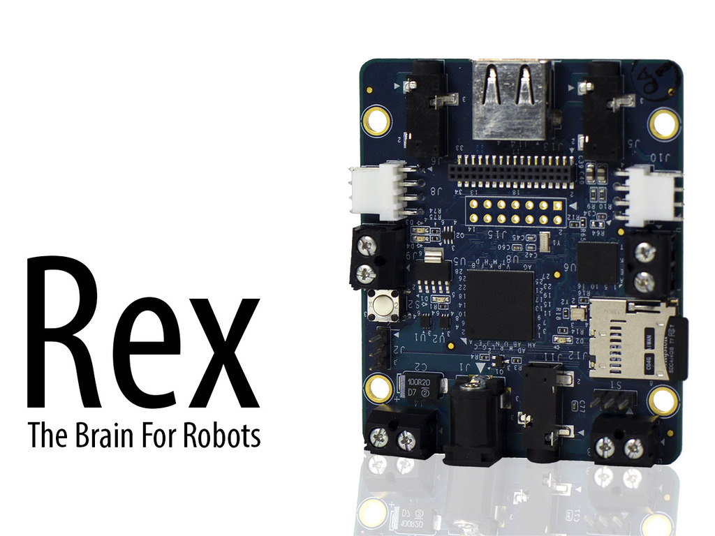 Rex: The Brain For Robots's video poster