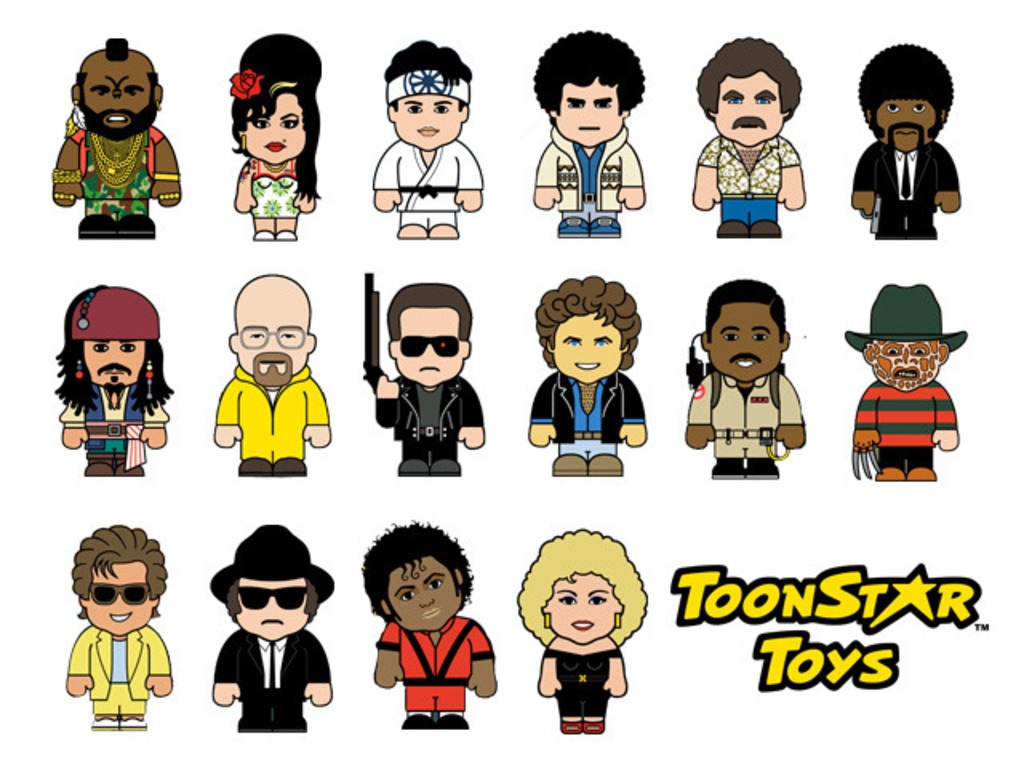 Developing TOONSTAR® cartoon caricatures into figurines's video poster