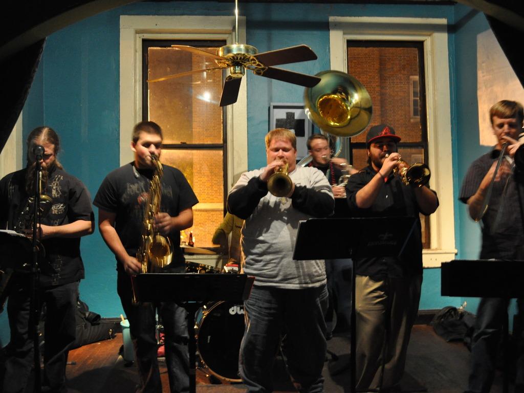 Half Dozen Brass Band's New Album's video poster